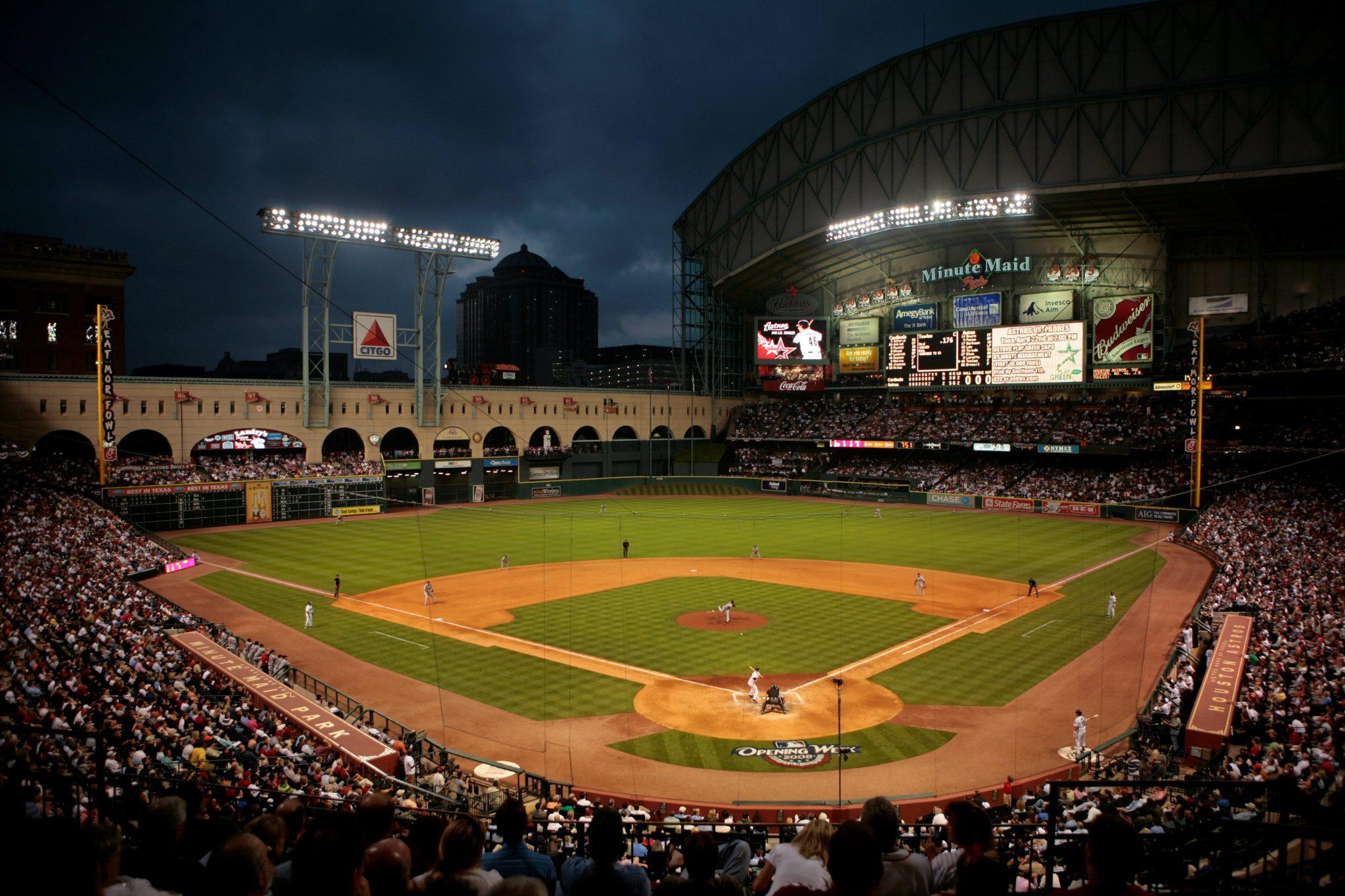 Minute Maid Park best MLB stadiums