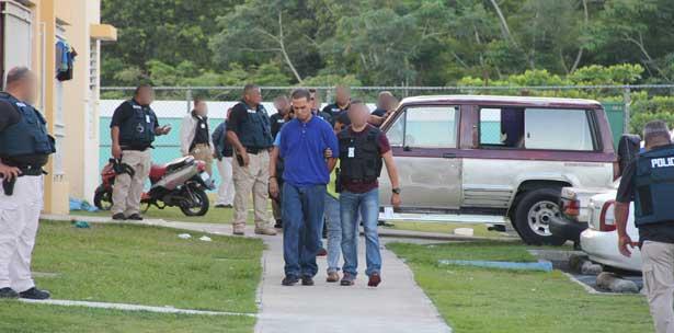 Arrestan al jefe de los narcos de residencial Brisas  en Cayey