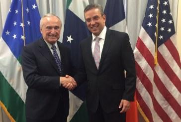 Gobernador se reúne con el Comisionado de la Policía de Nueva York