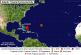 Ultima localizacion del Huracan Danny en el Caribe lluvias podrian llegar hasta Puerto Rico