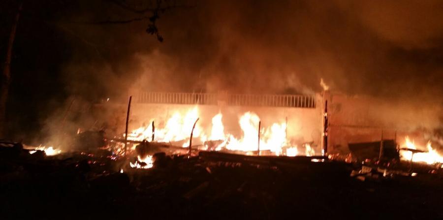 Accidental fuego que causó estragos en restaurante de Palmas del Mar