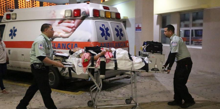 Al menos nueve heridos por pirotecnia
