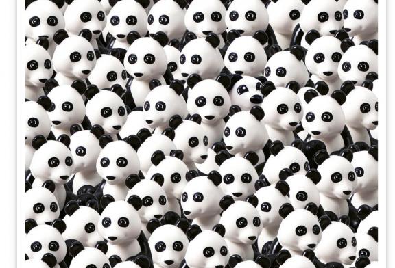 Olvídate de los pandas ¿Puedes encontrar al perro de LEGO Duplo en esta imagen?