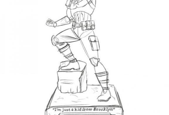 ¿Que piensas de que el Capitán América tenga su estatua en Nueva York?