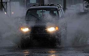 Fuertes lluvias afectan varios municipios