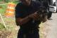 Policía Municipal de Toa Alta rescata a perrito bajo la tierra
