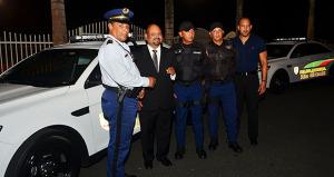 Entregandos nuevas patrullas a la Policía Municipal de Río Grande