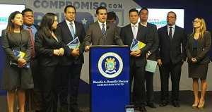Ricardo Rosselló presenta su Comité de Transición
