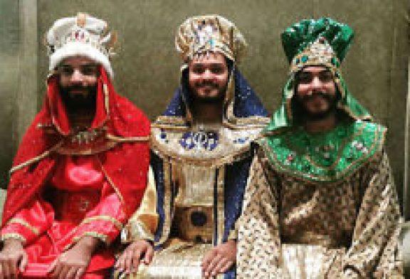 Llegan los Tres Santos Reyes a Plaza Carolina