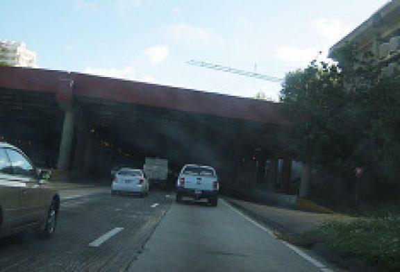 Cerrada salida por colición fatal en el Túnel Minillas
