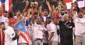 Tras 17 años de espera, Puerto Rico vuelve a ganar una Serie del Caribe (Vídeo)