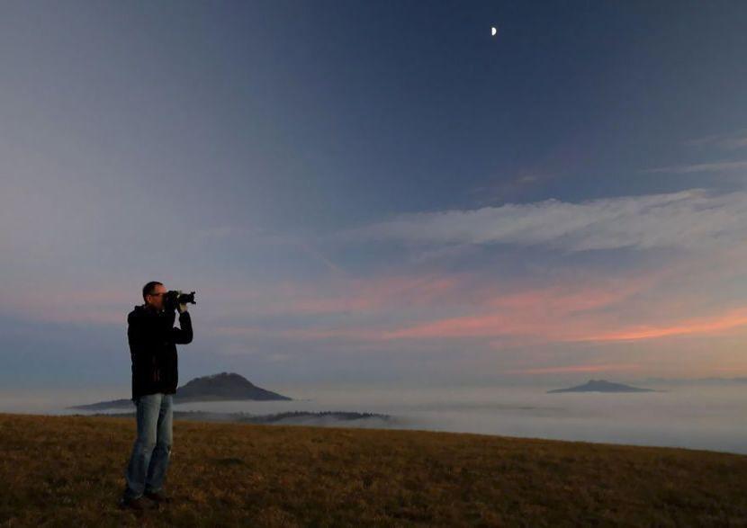 Fotografió una maravilla natural que solo se puede capturar una vez en la vida