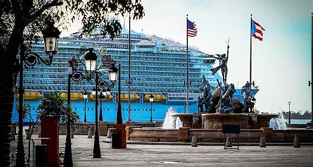Puerto Rico recibe más de 35 mil pasajeros de cruceros durante las Fiestas de la Calle San Sebastián