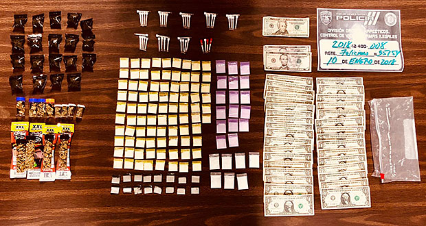 Arresto por drogas en Río Grande