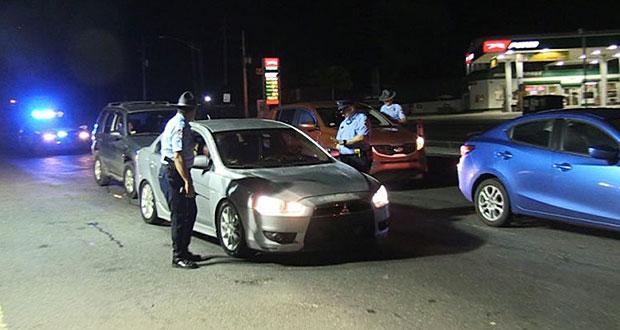 Policía anuncia bloqueo de carreteras este fin de semana