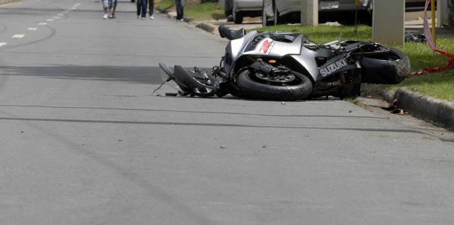 Reportan un motociclista accidentado en la  PR-3 de Río Grande
