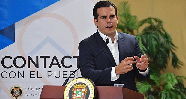 Rosselló Nevares informa otorgación de fondos federales adicionales para la recuperación tras el huracán María