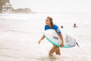Puertorriqueña campeona de la 32da edición del Corona Pro Surf Circuit