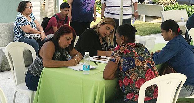 Cientos de vacunan contra la Influenza en Luquillo