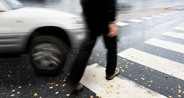 Se registra accidente de auto con peatón en Río Grande