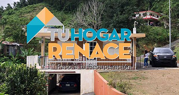 Solicitan extender periodo del programa Tu Hogar Renace