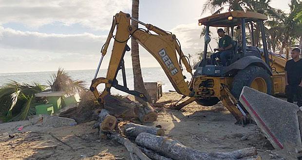 Loíza se prepara con tiempo: Alcaldesa trabaja para próxima temporada de huracanes