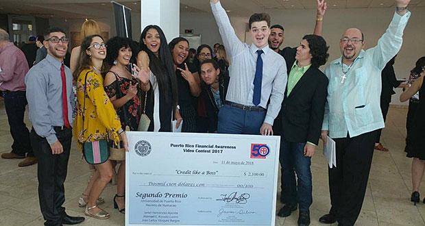 UPR-Humacao gana segundo y cuarto lugar en el Financial Awareness Video Contest 2017